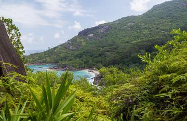 Anse Major Strand auf Mahe Seychellen