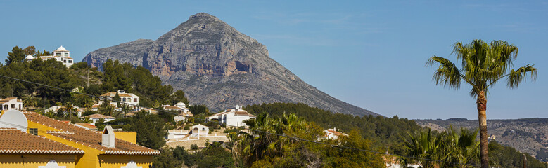 Montgo in Javea Spain