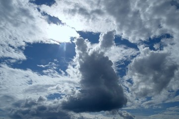 Улитка из облаков.
