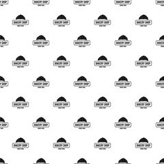 Bakery pattern vector seamless repeat for any web design