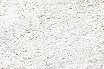 White painted cement wall