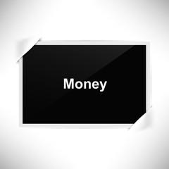 Foto Rahmen Querformat - Foto - Geld