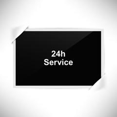 Foto Rahmen Querformat - 24 Stunden Service