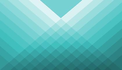 Stock Illustration - Geometric Blue Pattern, 3D Illustration, Modern Blue Background.