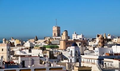 Cadiz mit Torre Tavira