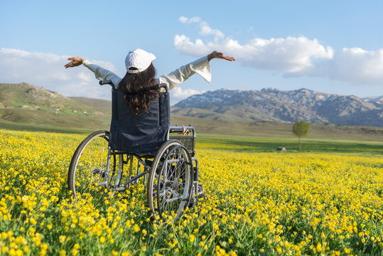 feeling freedom for disabled people