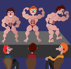 Bodybuilders Show