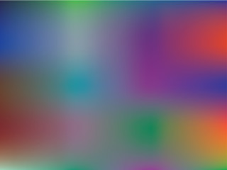 Gradient mesh abstract background. Blurred bright colors, colorful rainbow pattern. Multicolored fluid shapes