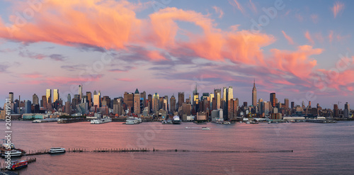 Fototapete New York panorama