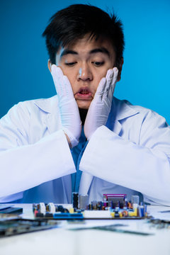 Engineer shocked with state of motherboard