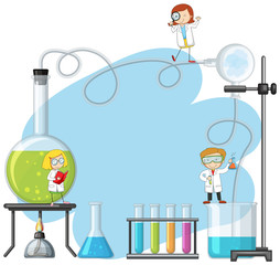 Doodle  Scientist in the Lab