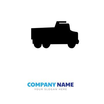 truck company logo design