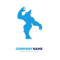 werewolf company logo design
