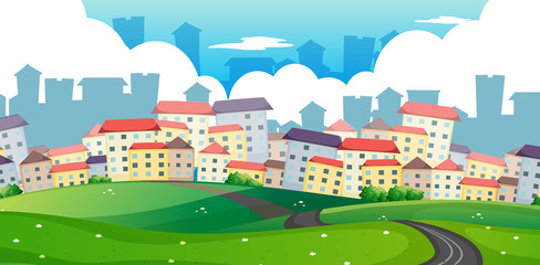 A Road to Big City