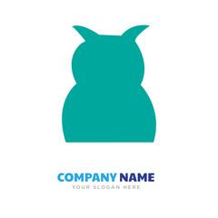 black owl company logo design