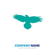 raven company logo design