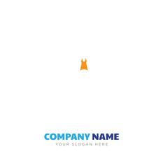 Female dress company logo design