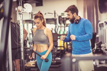 Workout assistance.