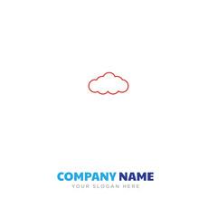 cloud company logo design