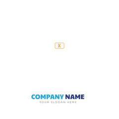 close x company logo design