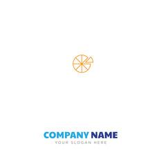 pie chart company logo design