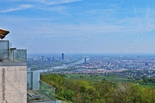 Aussicht Auf Wien Vom Kahlenberg Stock Photo And Royalty Free