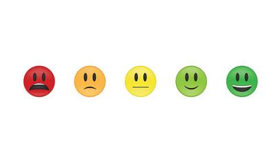 Set of  emoticon