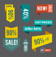 Sale Now Hot Price Offer on Vector Illustration