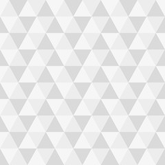 Triangle seamless background. Modern triangular geometric pattern. Polygon texture. Vector illustration.