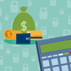 Secure money and savings