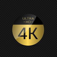 4K Ultra HD label