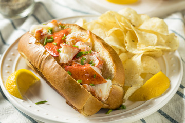 Homemade New England Lobster Rolls
