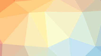 8K Abstract Triangle Polygon Colorful Background