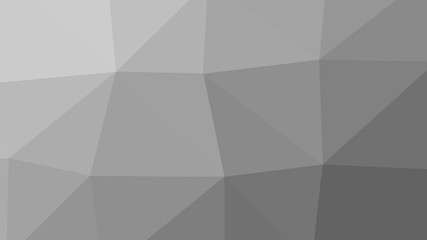 8K Abstract Triangle Polygon Grey Background