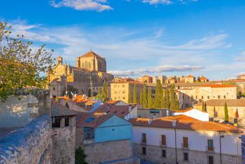 General view of the city of Salamanca, Spain