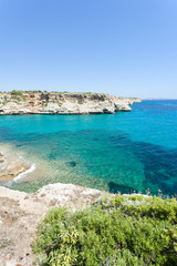 Calas de Mallorca, Mallorca - A wonderful view onto the bay of Calas de Mallorca