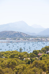 Port de Pollenca, Mallorca - Marvelous view upon Port de Pollenca
