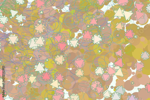 Background abstract motion, particle or random pattern for
