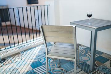 minimalistic balcony