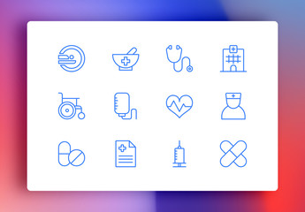 Medical Minimalist Icons
