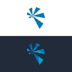 logo propeller abstract