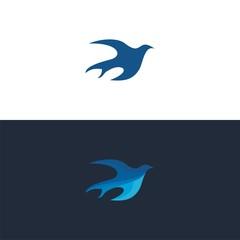 logo bird modern