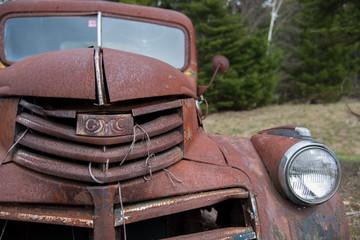 Rusty Vintage Truck