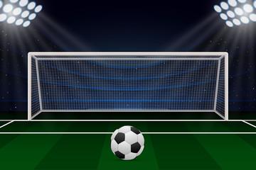 Realistic Football goal
