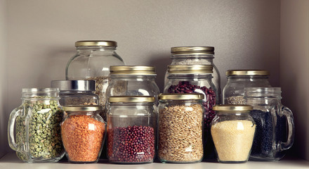 Collection of grain products