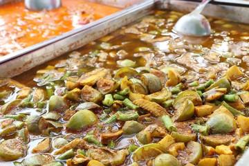 fish organs sour soup