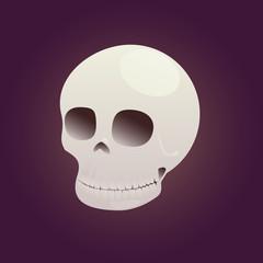 Game icon skull vector illustration