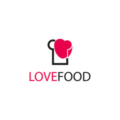 Love Food Vector Template Design Illustration
