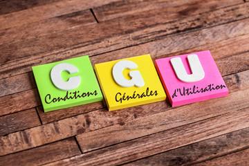 post-it acronyme : CGU