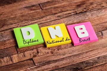 post-it acronyme : DNB